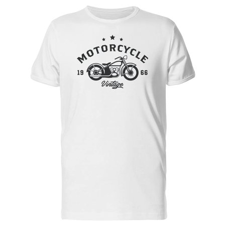 Cool Retro Vintage Motorcycle Tee Men's -Image by Shutterstock
