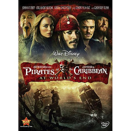 Pirates of the Caribbean: At World's End (DVD) (Pirates Of The Caribbean Fountain Of Youth)