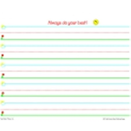 Frog Street Press 1290460 Teacher Created Resources Signature Line Smart Start Writing Paper, 1 In. Line Spacing, Pack of (Resources Frog)
