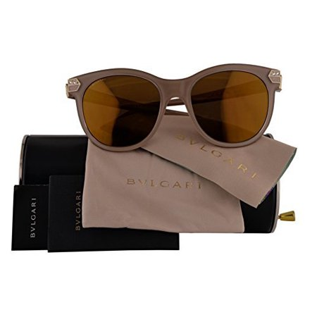 268c78a2bab Bulgari - Bvlgari Sunglasses Authentic BV8185B Brown w Brown Mirror Bronze  Lens 5382F9 Bulgari BV 8185-B (55mm) - Walmart.com