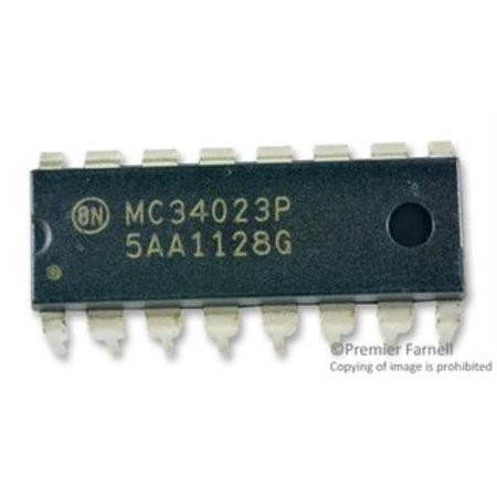10X On Semiconductor Mc34023pg Ic Pwm Controller 30V 16 Dip