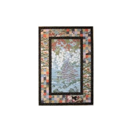 Wall Quilt (Spotlight Quilt Pattern by Kari Nichols and, Wall Hanging Quilt 42.5 x 60.5 By Mountainpeek Creations )
