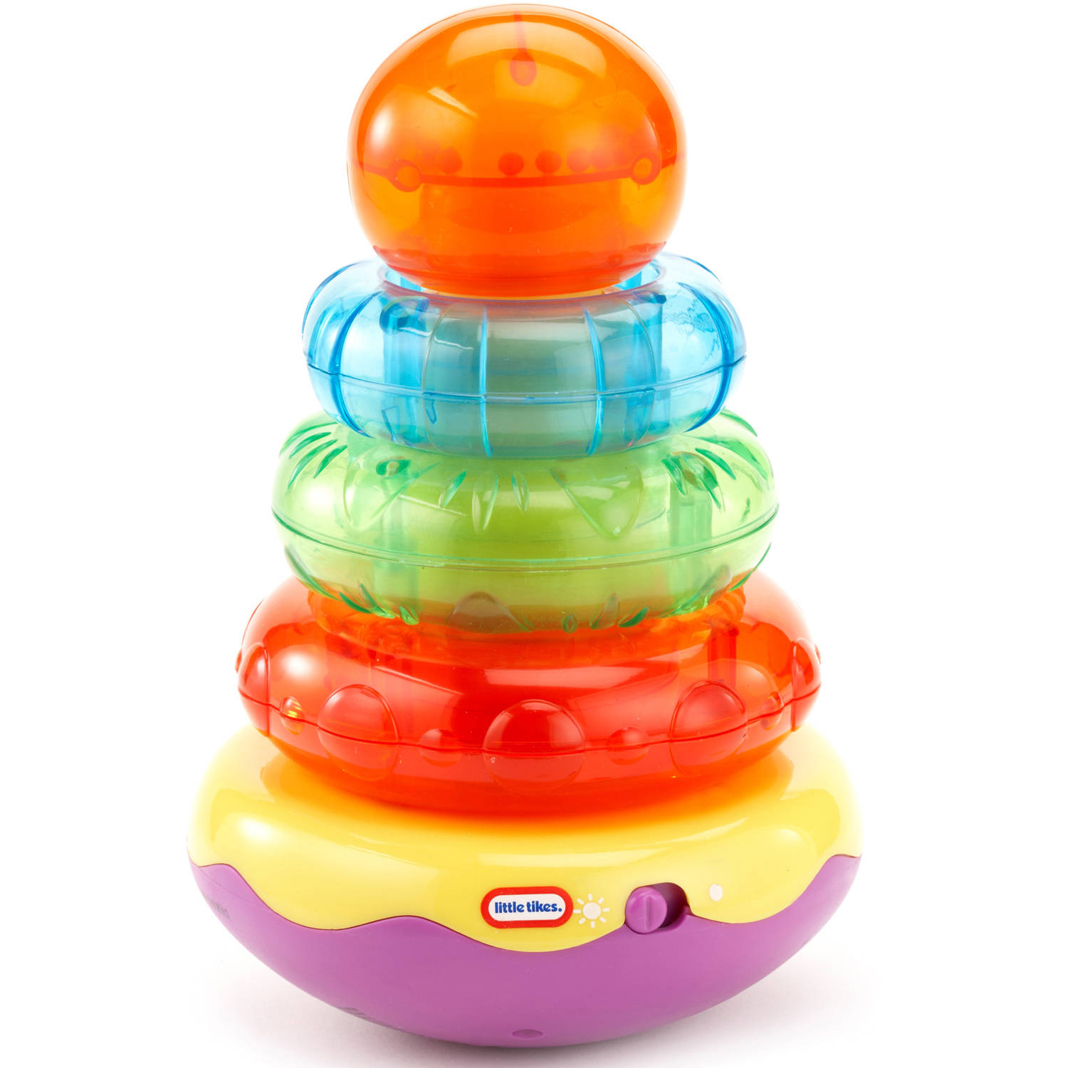 Little Tikes Light n' Sounds Stacker- Orange/ Green
