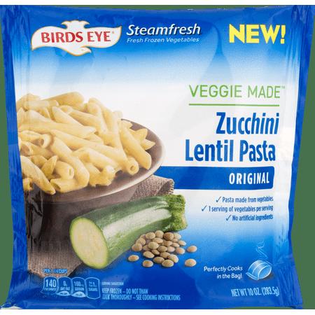 Birds Eye Steamfresh Veggie Made Zucchini Lentil Pasta Original 10 0 Oz