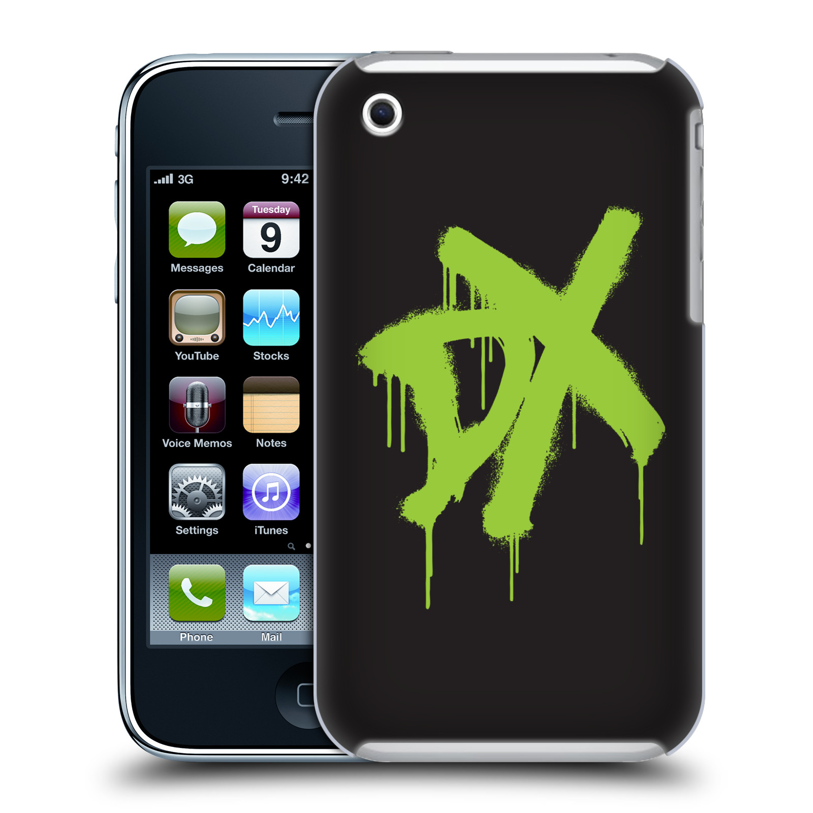 OFFICIAL WWE D-GENERATION X HARD BACK CASE FOR APPLE IPHONE PHONES