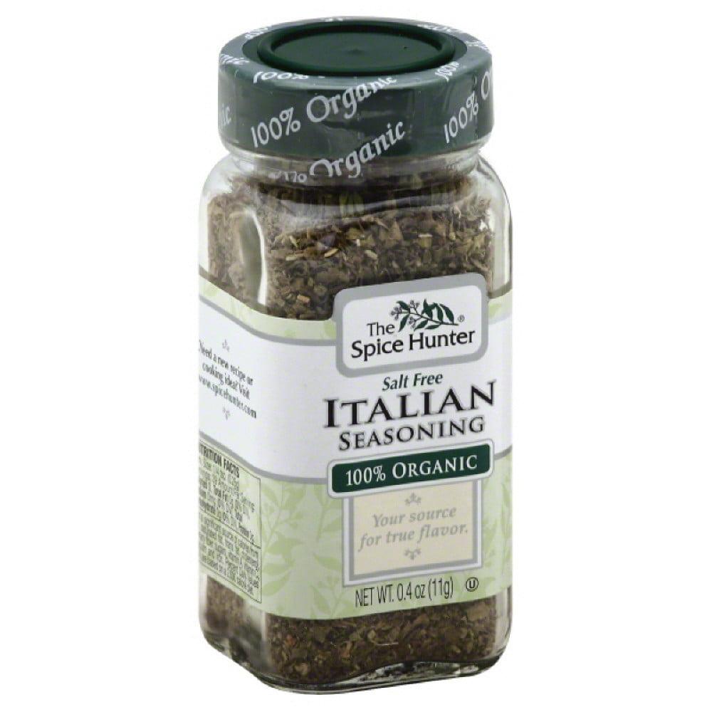 Spice Hunter 100% Organic Italian Seasoning, 0.4 Oz (Pack of 6)