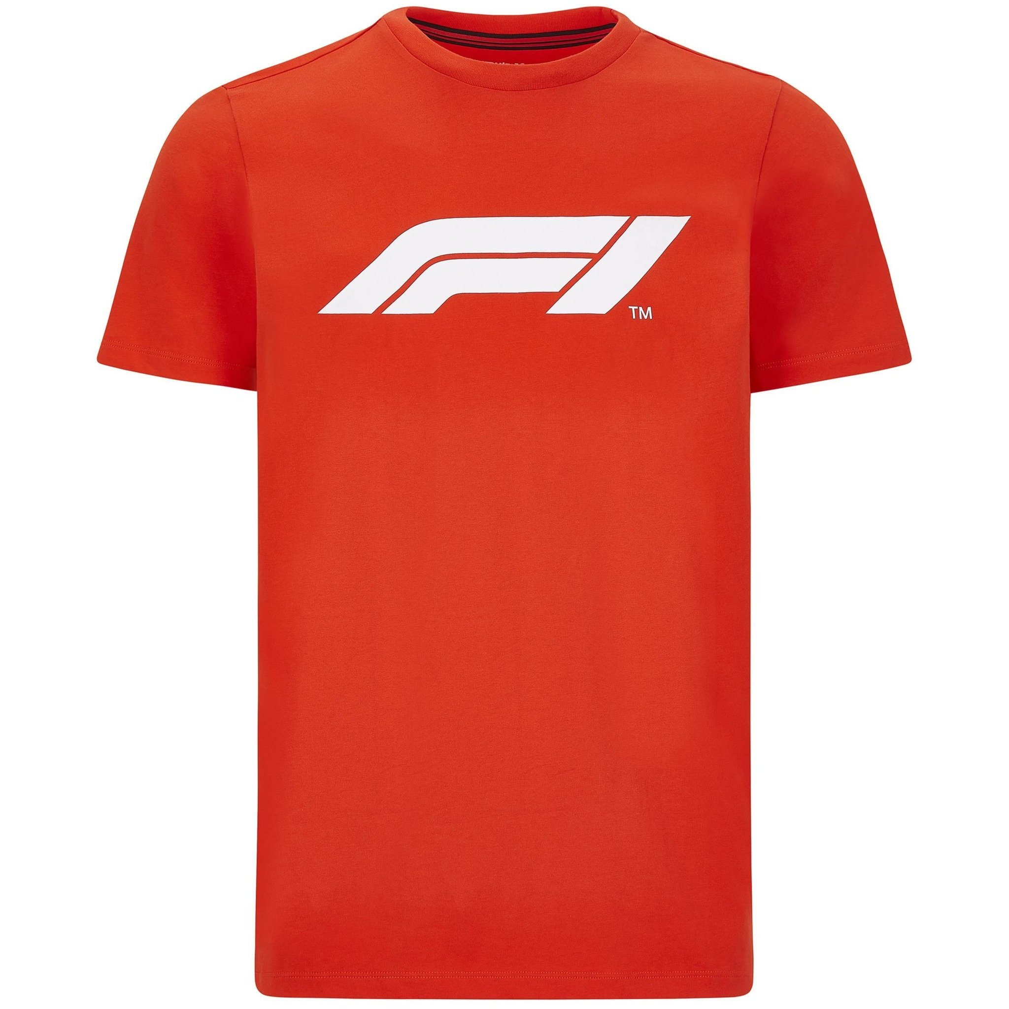 Formula 1 Tech Collection F1 Mens Large Logo T-Shirt Black//Gray//White//Navy//Red