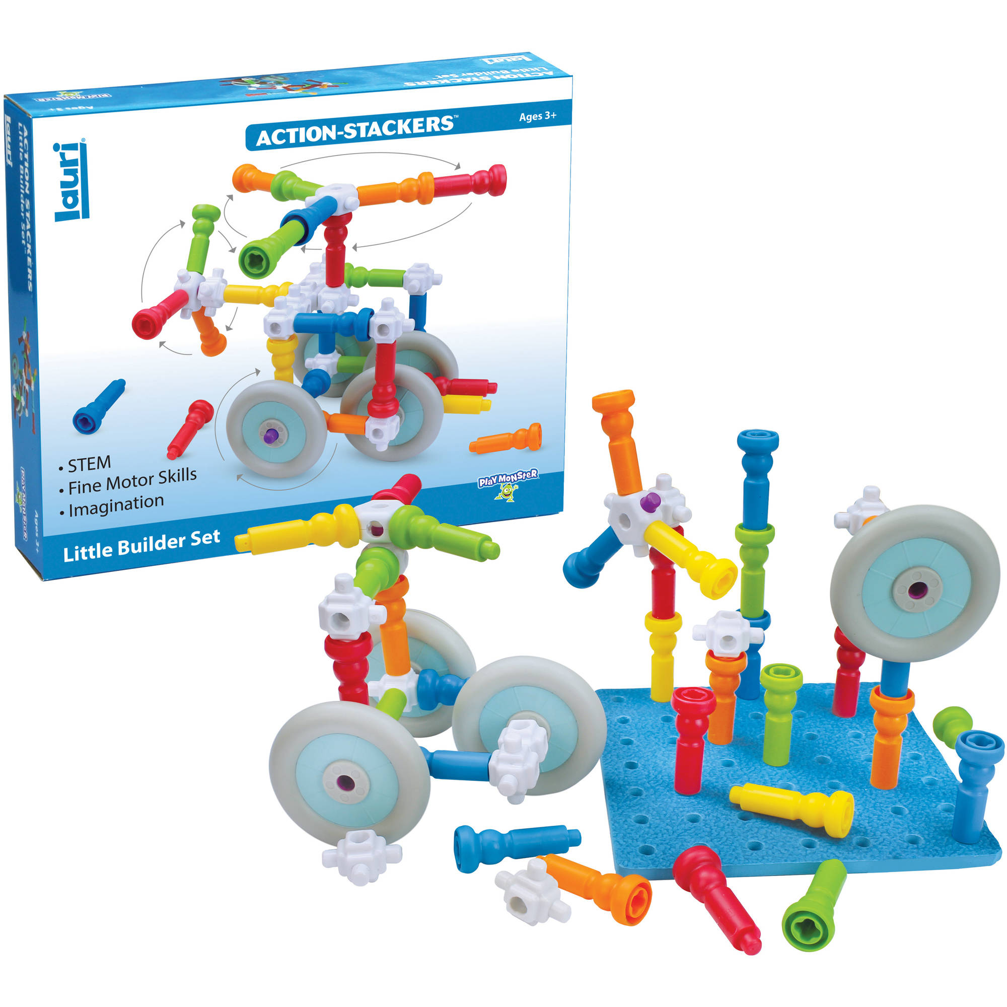 Action-Stackers Little Builder Set