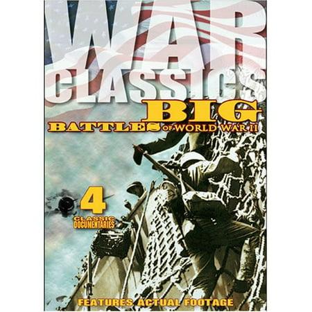 War Classics Volume 11: Big Battles of WW II (DVD) - Top 11 New Halloween Classics