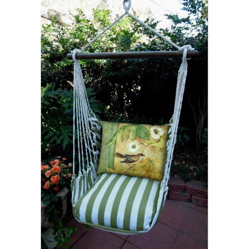 Magnolia Casual Vine Hammock Chair & Pillow Set