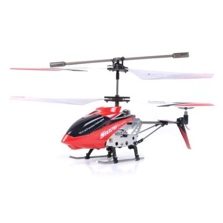Syma S107/S107G 3 Channel RC Helicopter with Gyro - Red](4 Channel Helicopter)