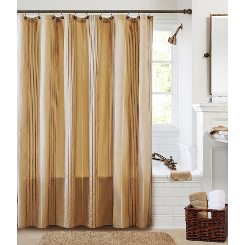 Better Homes and Gardens Chenille Fabric Shower Curtain Collection