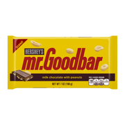 Hershey's, Mr. Goodbar Milk Chocolate with Peanuts Giant Candy Bar, 7 Oz.