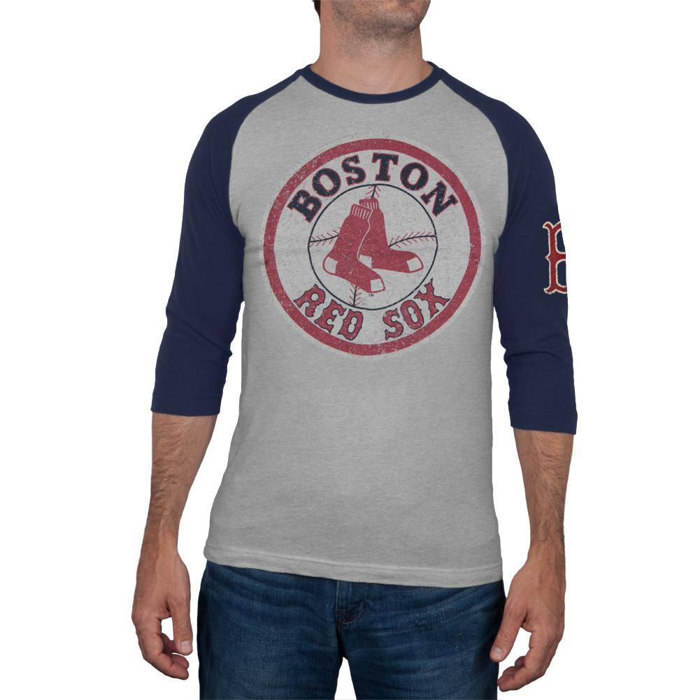 Boston Red Sox - Logo Alliance Raglan