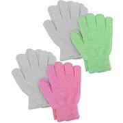 Aquasentials Exfoliating Bath Gloves (4 pairs)