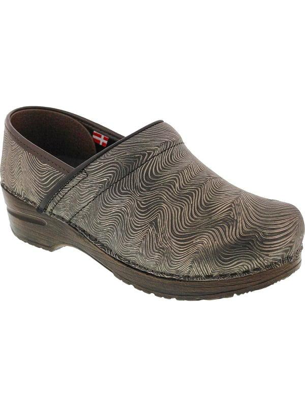 Original by Sanita Women's Embossed Patent Professional Shoe