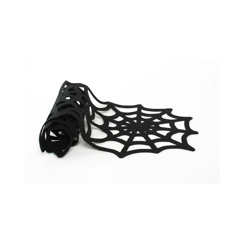 TAG Spooky Party Spiderweb Felt Table Runner