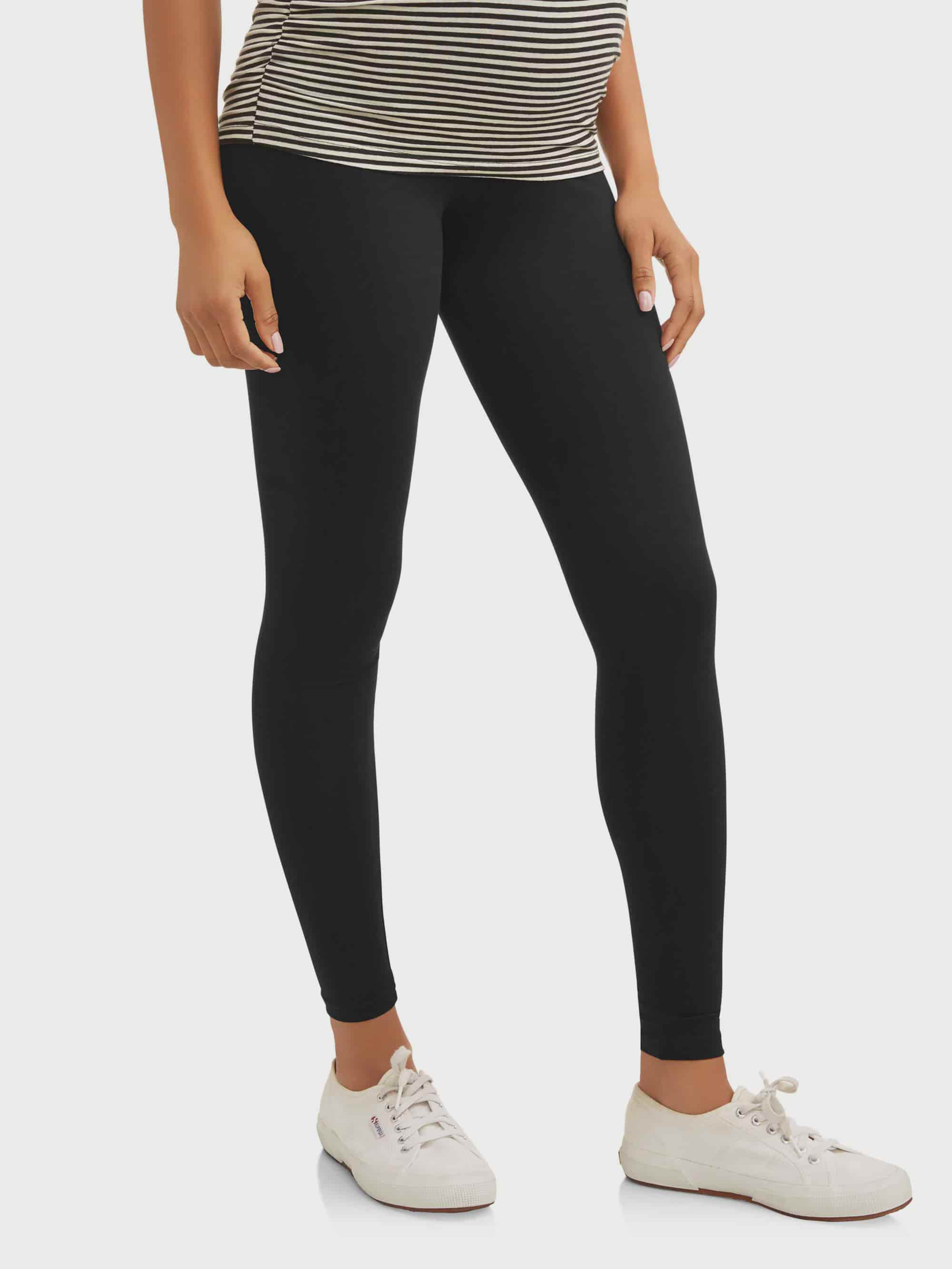3a94c694eb4 Oh! Mamma - Full Panel Maternity Leggings -- Available in Plus Size -  Walmart.com