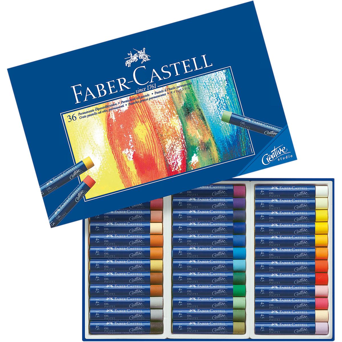 Creative Studio Oil Pastel Crayons 36/Pkg-