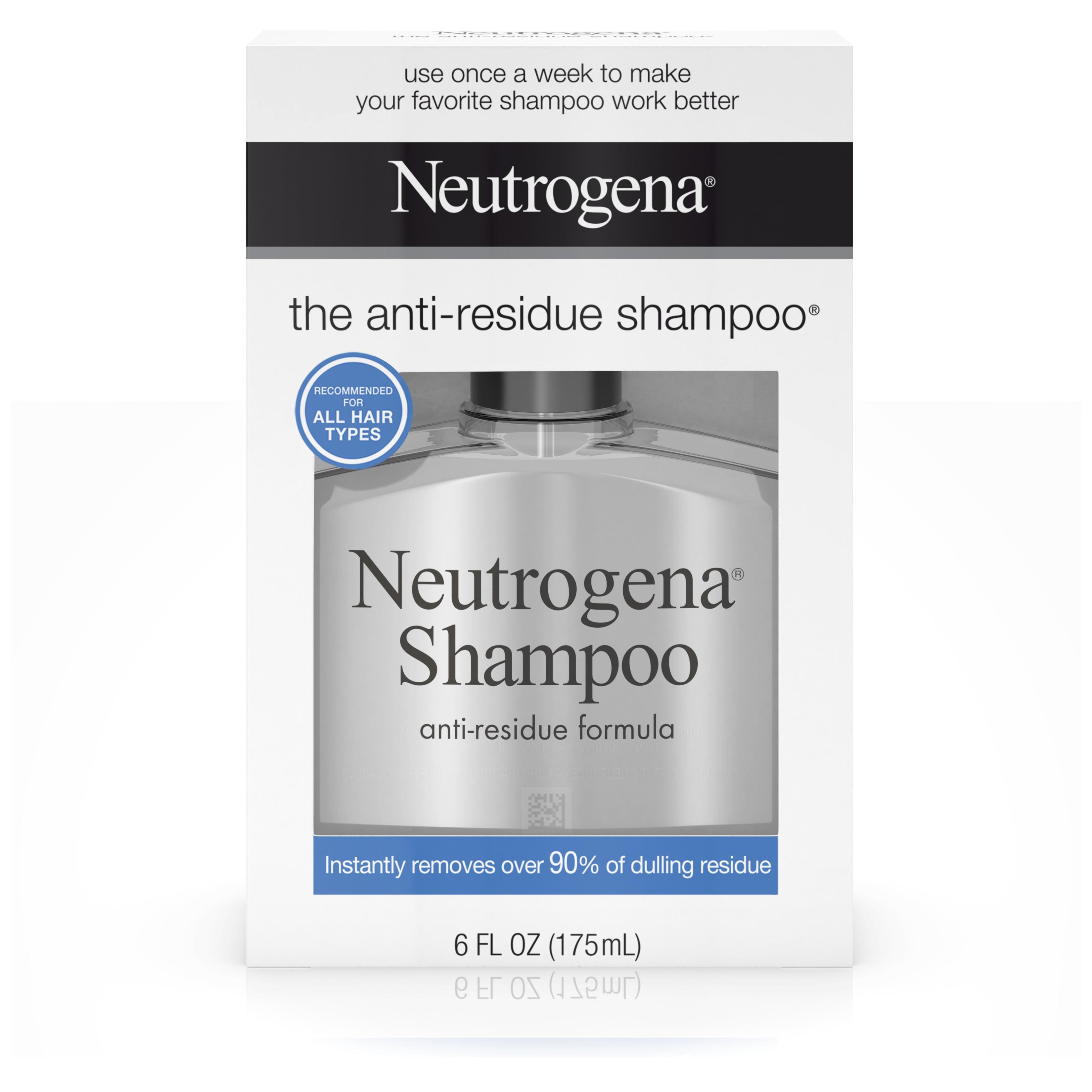 Neutrogena Anti-Residue Shampoo, 6 Oz
