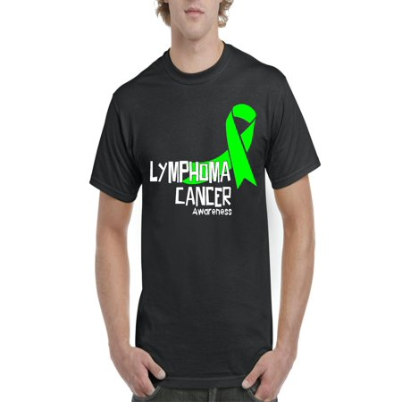 Lymphoma T-shirts (Lymphoma Cancer Awareness Men Shirts T-Shirt)