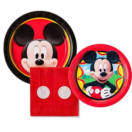 mickey mouse birthday party package for 8 guests