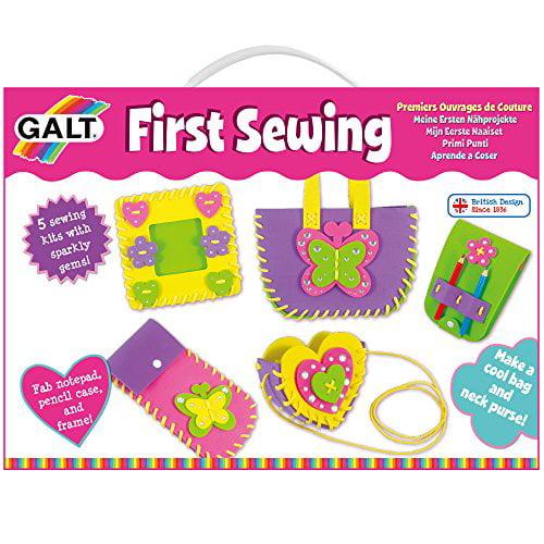 Galt SEWING CASE Kids Art Craft Toy BNIP