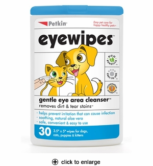 Petkin Eye Wipes 30ct