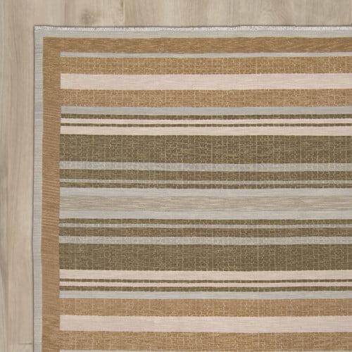 Alcott Hill Cadsden Hand-Woven Brown Area Rug