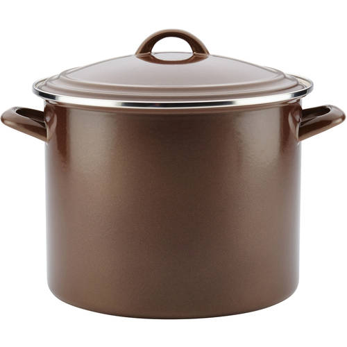 Ayesha Curry Enamel on Steel Stockpot, 12-Quart