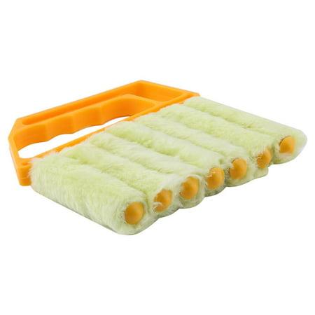 Ejoyous Mini nettoyeur tenu dans la main, nettoyeur de nettoyeur de climatiseur de fenêtre aveugle vénitien de brosse - image 5 de 11
