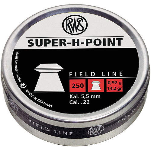 RWS Super H Point 2317382 Field Line Air Gun Pellets 14.2 Gr by Generic