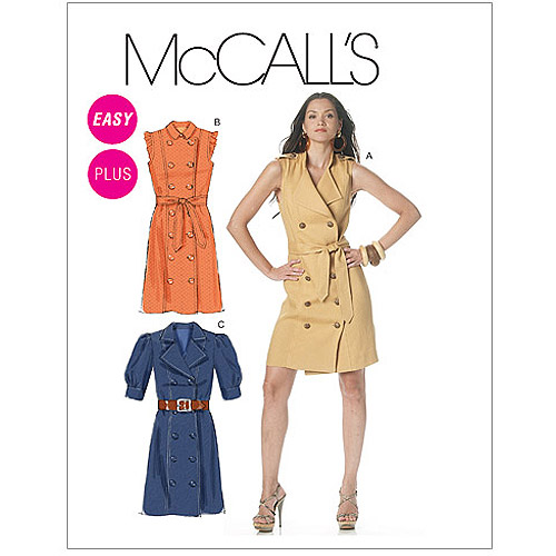 Mccall's Pattern Misses' And Women's Dre