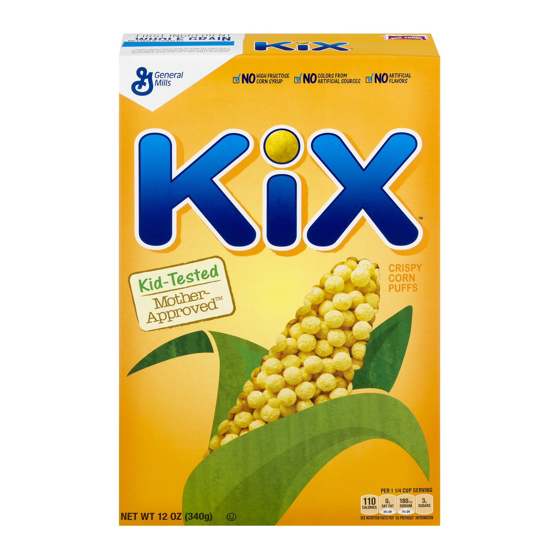 Kix Cereal 12 oz Box