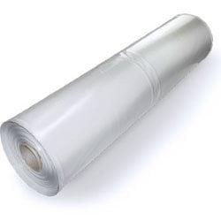 MCA, Plastic Poly Sheeting 10 Feet X 100 Feet, True 3 Mil, Transparent/White, Durable, Top Visqueen Plastic Sheeting