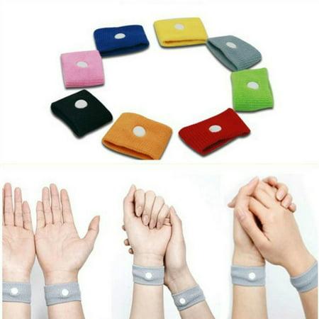 (Outgeek 1 Pair Anti-Nausea Wristbands for Car Ship Sea Van Plane for Adults)