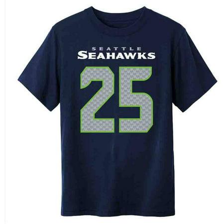 Nfl seattle seahawks youth richard sherman tee for Seahawks t shirt womens walmart