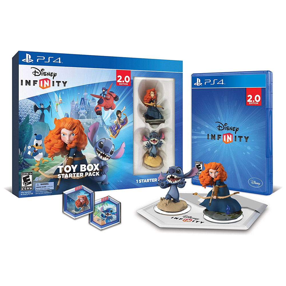 Disney Infinity 2.0: Toy Box Starter Pack - PlayStation 4