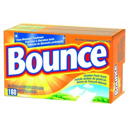 Procter   Gamble 608 80168 Bounce Dryer Sheets Box 160 Use Outdoor Fresh
