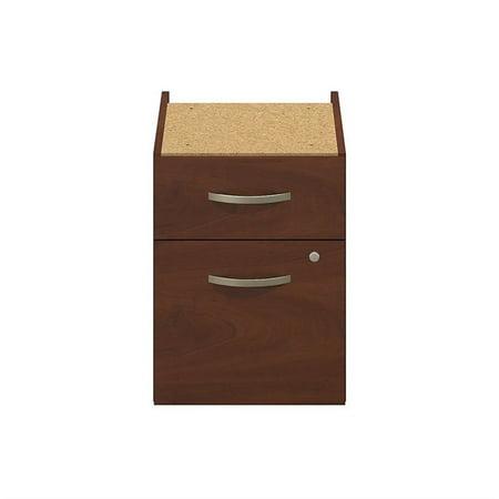 Series C Elite 48W x 30D C Leg Desk with Pedestal in Hansen Cherry - image 4 de 10