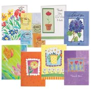 WalterDrake   Thank You and Blank Note Cards Value Pack of 24