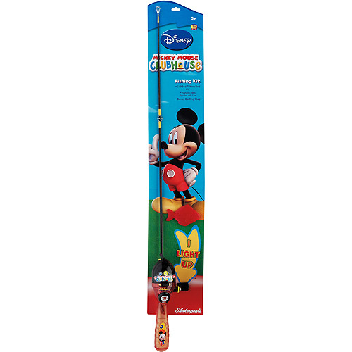 Shakespeare Mickey Mouse Lighted Fishing Kit