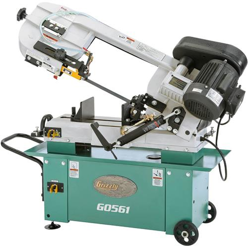 "Grizzly G0561 7"" x 12"" 1 HP Metal-Cutting Bandsaw"