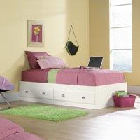 Sauder Shoal Creek Mates 2-Drawer Storage Bed, Twin, Multiple Colors