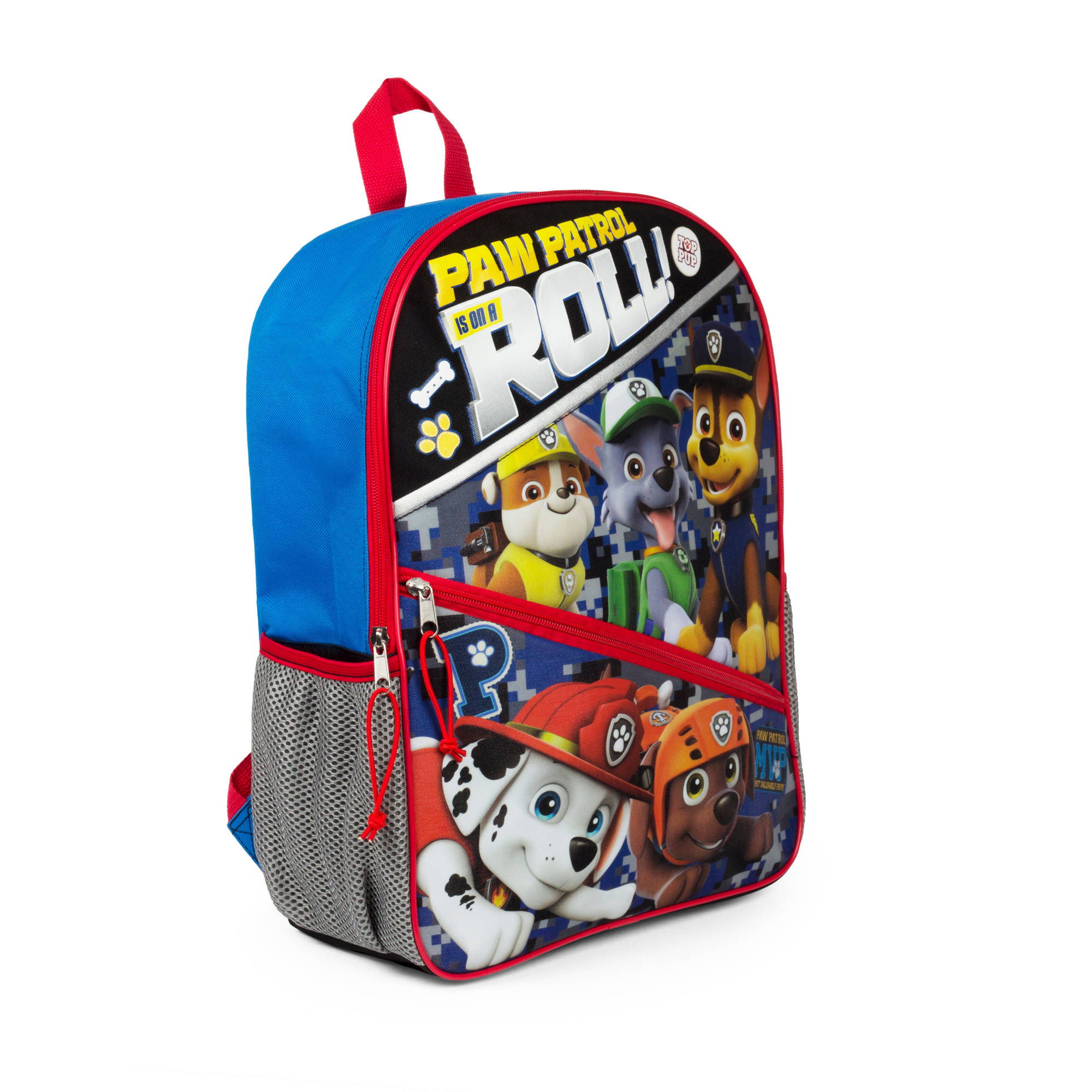 "16 "" Paw Patrol Blue Backpack by"