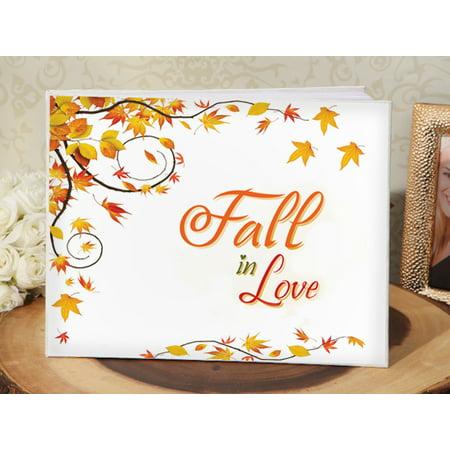 True Love Guest Book - Fall in love guest book
