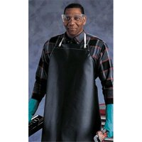 Ansell 012-56-601-35X55 Urethane Supported Apron, Blue