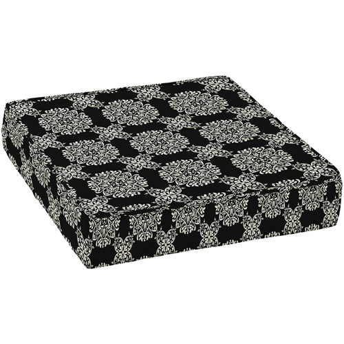 Better Homes And Gardens Outdoor Deep Seat Seat Cushion, Black