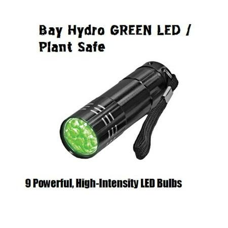Bay Hydro Plant Safe Super Bright GREEN LED Torch FlashLight](Safelight Flashlight)