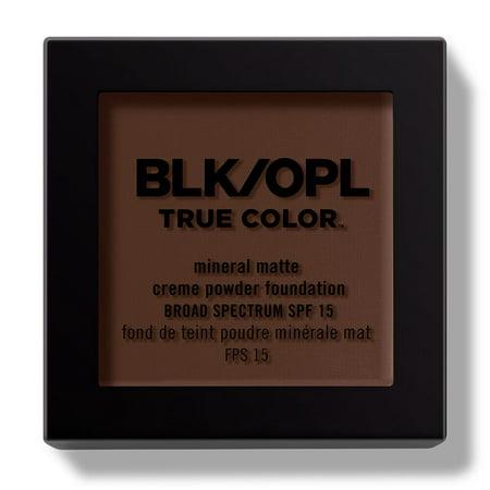 Organic Mineral Loose Foundation Powder - Black Opal True Color Mineral Matte Creme Powder Foundation, Suede Mocha